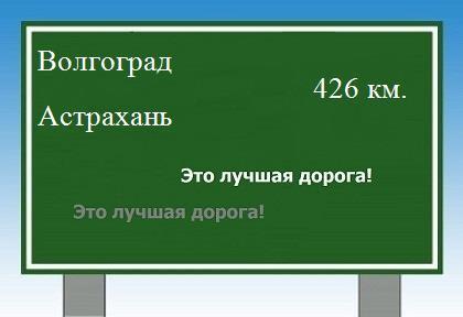 Волгограда до Астрахани.