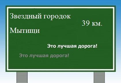 расстояние Звездный городок Мытищи как добраться.