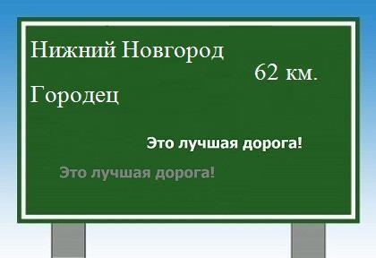 расстояние Нижний Новгород