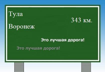 Расстояние от тулы до воронежа на машине - 9e6e3