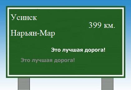 от Усинска до Нарьян-Мара.