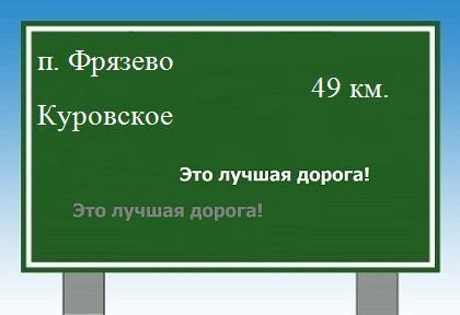 Фрязево в Куровское